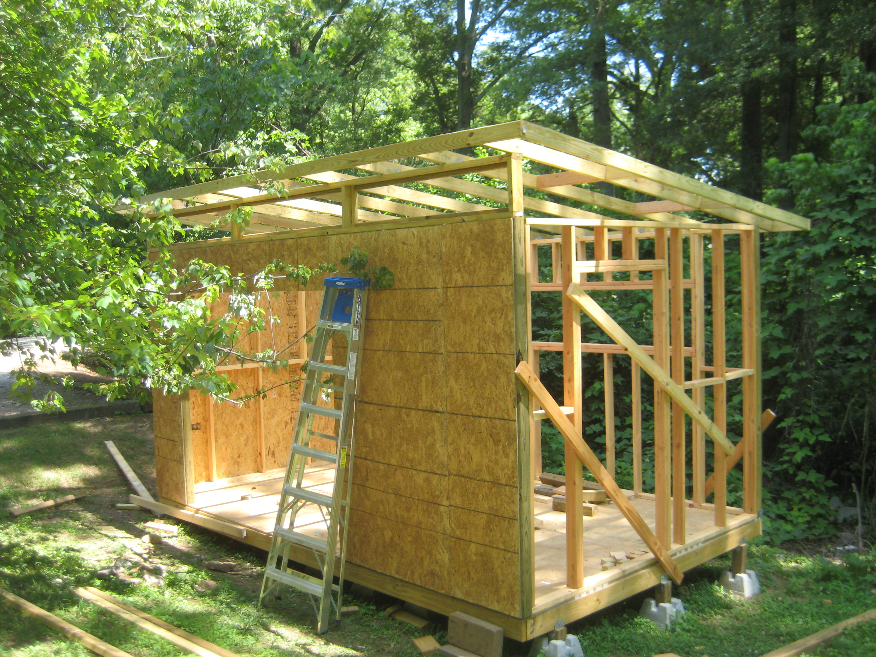 Lean to shed garden shed planning scotland for Modern garden shed designs