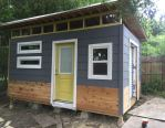 Eric's shed is almost complete!